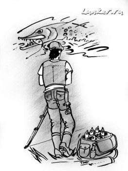 На джеркбейты ловится крупная, трофейная рыба - заблуждение