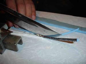 Соломочно— ножевой нарез (гильЙОтинного типа)